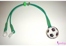 obrázek Záchytný klip na sluchadla nebo procesor/y - Fotbalový míč