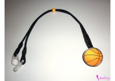 obrázek Záchytný klip na sluchadla nebo procesor/y - Basketbalový míč