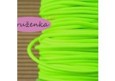 obrázek Pruženka neonově zelená