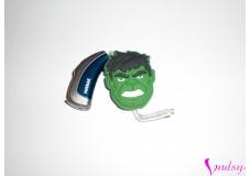 obrázek Ozdoba na sluchadlo nebo procesor - Hlava Hulka