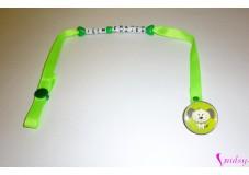 obrázek Klip na dudlík Zelený pejsek