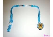 obrázek Klip na dudlík Hnědý medvídek