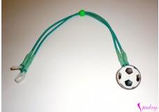 obrázek Záchytný klip na sluchadla nebo procesor/y - Fotbalový míč II. jakost