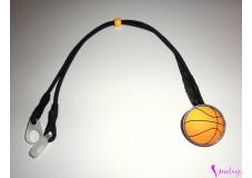 obrázek Záchytný klip na sluchadla nebo procesor/y - Basketbalový míč II. jakost