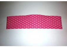 obrázek Čelenka na procesor/y červená s kytičkami