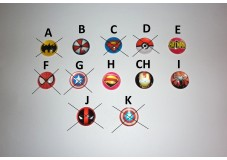 obrázek Záchytný klip na sluchadla nebo procesor/y - Marvel loga