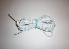 obrázek Pruženka kulatá bílá